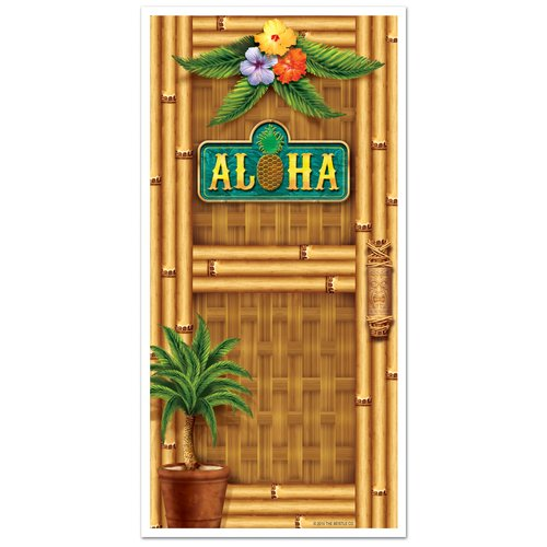 The Beistle Company Aloha Door Cover Wall D cor