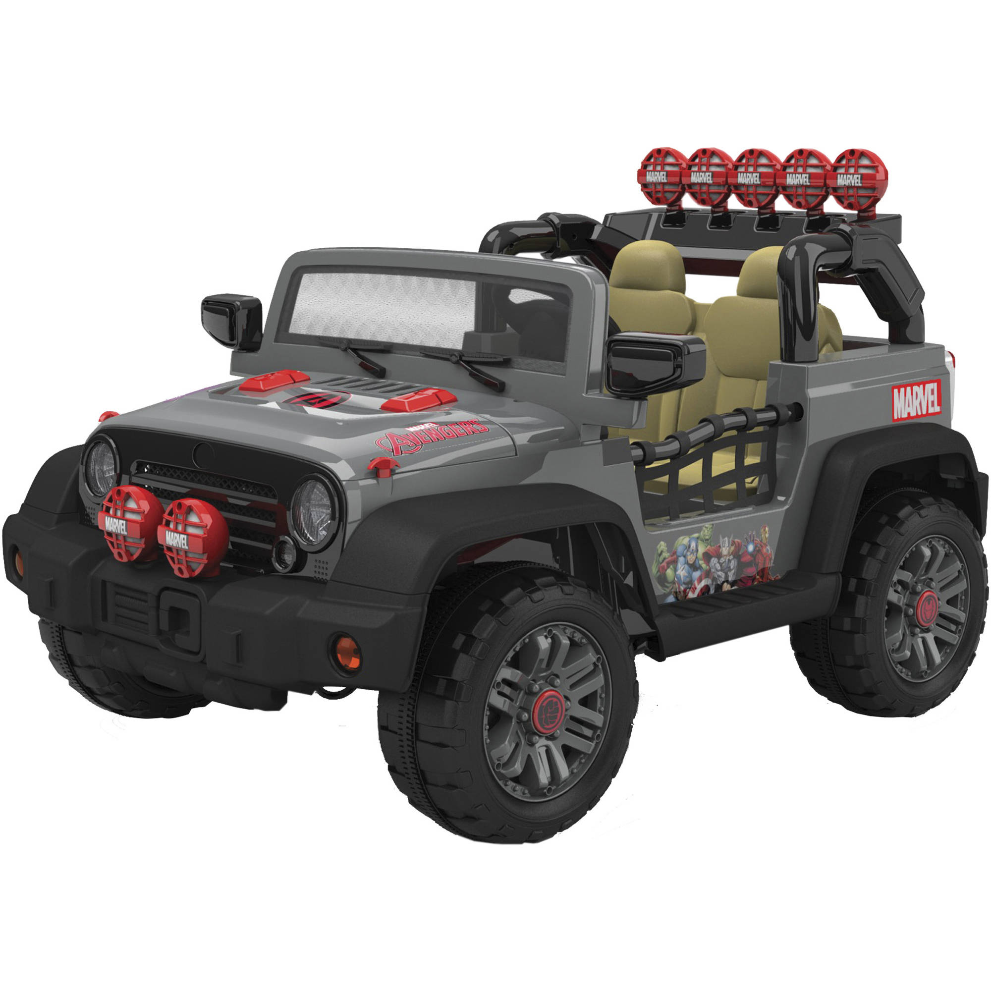 Avengers 12-Volt 4x4 Electric Battery-Powered Ride-On