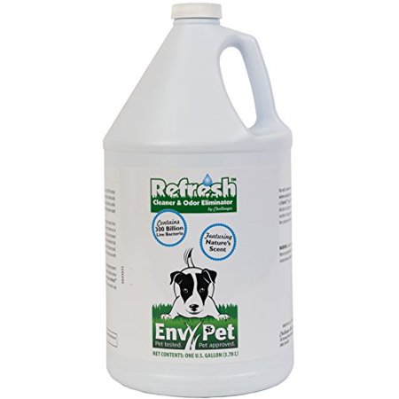 EnvyPet Refresh 1Gal Concentrate Cleaner and Odor Eliminator for Synthetic