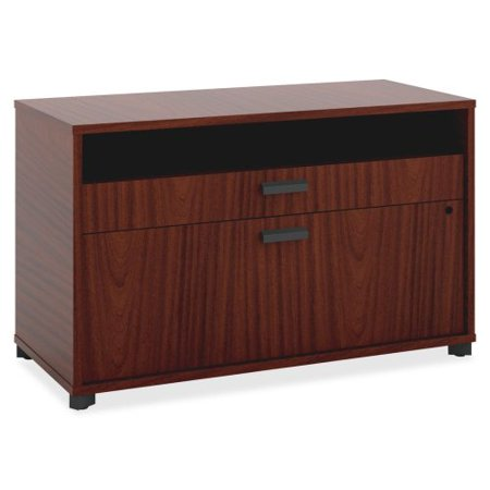 Basyx By Hon Manage Series Chestnut Office Furniture Collection   30  Width X 16  Depth X 22  Height   2 X Pencil  File Drawer S    Chestnut  Laminate  Mg36fdc1a1