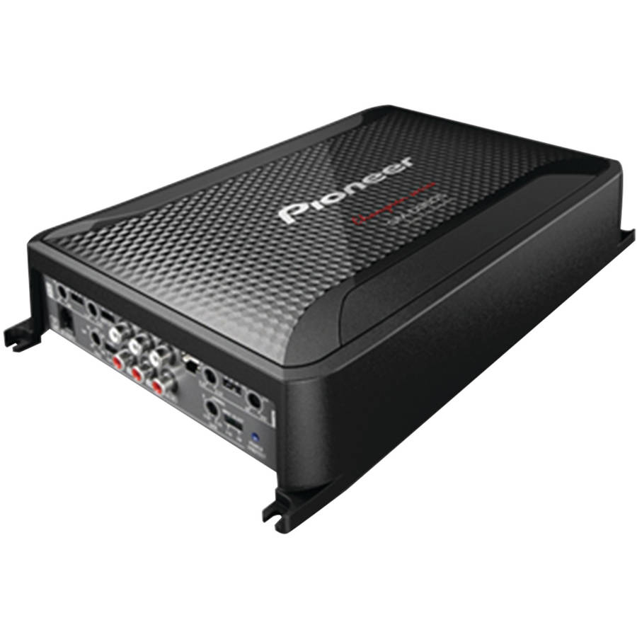 Pioneer GM-D9605 GM Digital Series Class D Amp (5-Channel Bridgeable, 2,000 Watts Max, with Wired Bass Boost Remote)