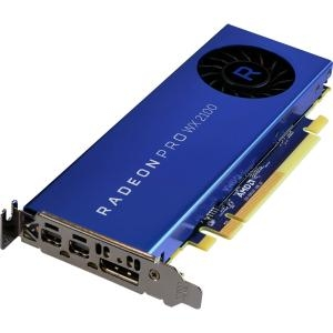 Radeon Pro WX 2100 2GB, PCI-Express x16, 2x Mini-DisplayPort, 1x DisplayPort