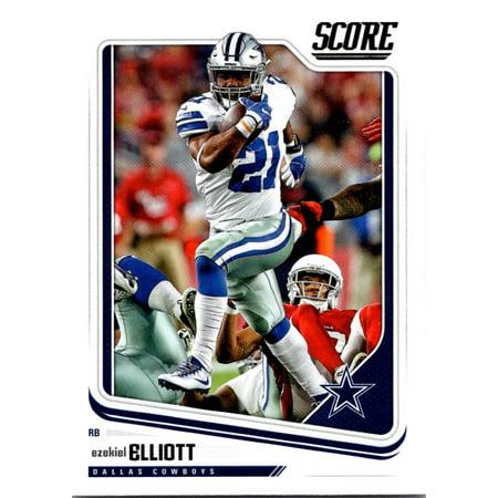 2018 Score #85 Alfred Morris Dallas Cowboys Football (Dallas Cowboys Credit Card)