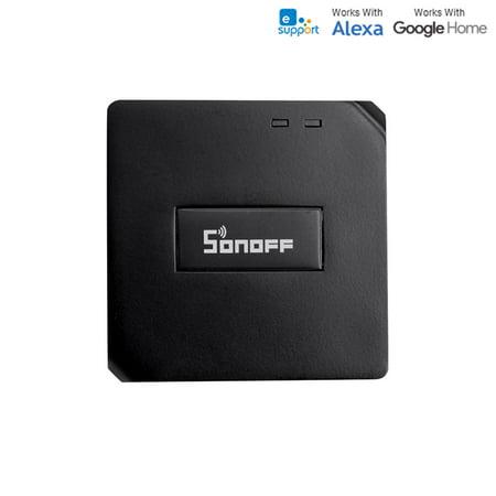 Sonoff  RF Bridge Smart Switch 433MHz Wireless RF Switch WiFi IR RF Universal Remote Controls, Smart Home Hub Smart Home Makes Use Of Mobile Phone APP Control Mode