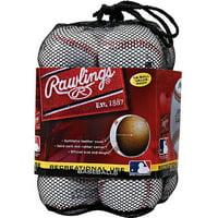 (12 Pack) Rawlings Official League Recreational Use CROLB Baseballs in Mesh Bag (10 & Under)