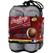 (12 Pack) Rawlings Official League Recreational Use CROLB Baseballs in Mesh Bag (10 & Under)