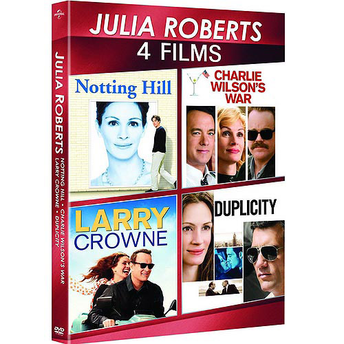 Julia Roberts: 4-Movie Spotlight Series - Charlie Wilson's War / Duplicity / Larry Crowne / Notting Hill (Anamorphic Widescreen)