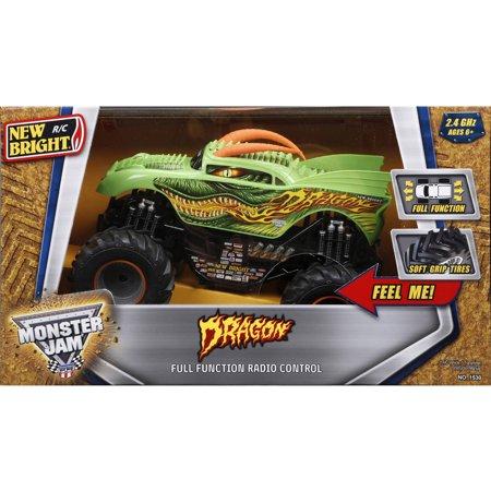 1 15 R C Full Function Monster Jam Dragon