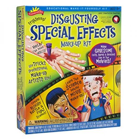 Scientific Explorer Disgusting Special Effects Makeup - Special Effects Makeup Kit