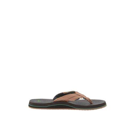 - Sanuk Beer Cozy 2 TX Men's Casual Flip Flop Sandals 1102480
