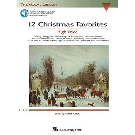 - 12 Christmas Favorites : The Vocal Library High Voice