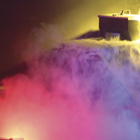 American DJ Smoke Low Lying Dry Ice Effect Fog Machine w/ Remote | MISTER-KOOL - Outdoor Fog Machine