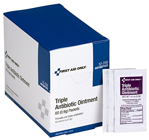 First Aid Only Triple Antibiotic Ointment, 60 Per Box - Original Version