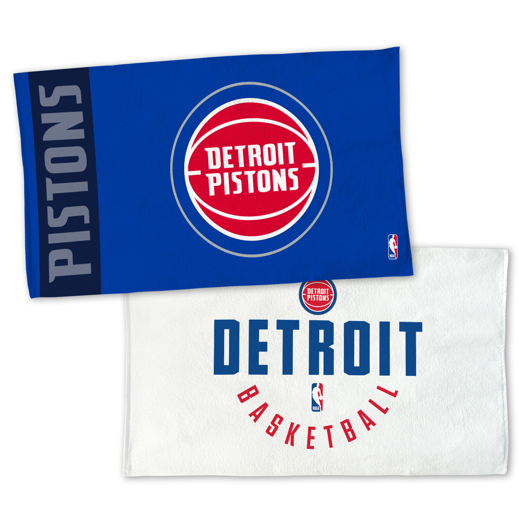 "Detroit Pistons WinCraft 22"" x 42"" Authentic On-Court Towel - No Size"