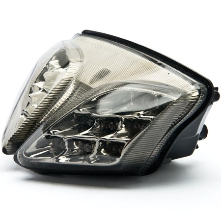 Kapsco Moto Smoke LED Tail Light Integrated with Turn Signals For 2008-2009 Suzuki GSXR 750 / GSX-R750 - image 3 of 4