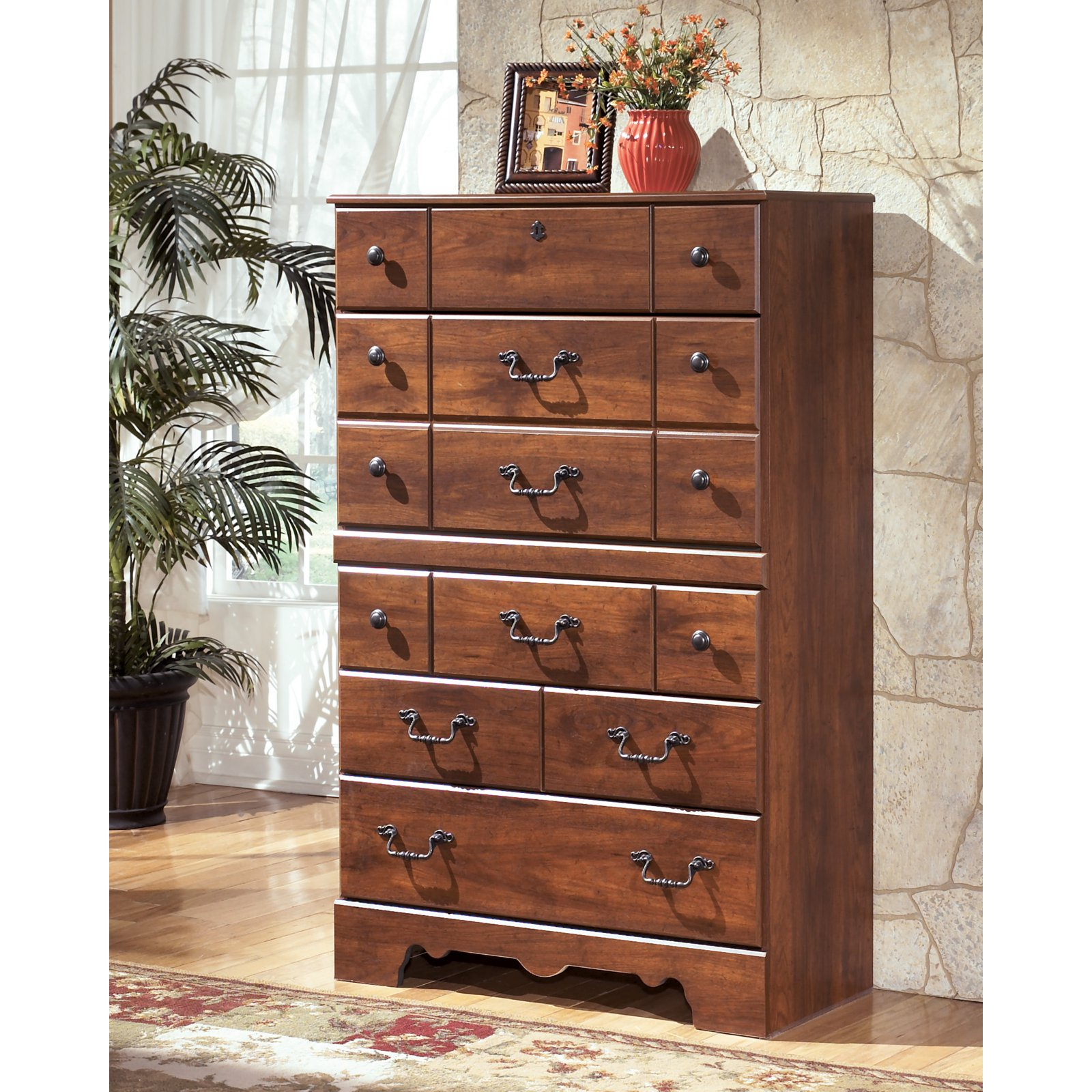 Signature Design by Ashley Timberline 5 Drawer Chest