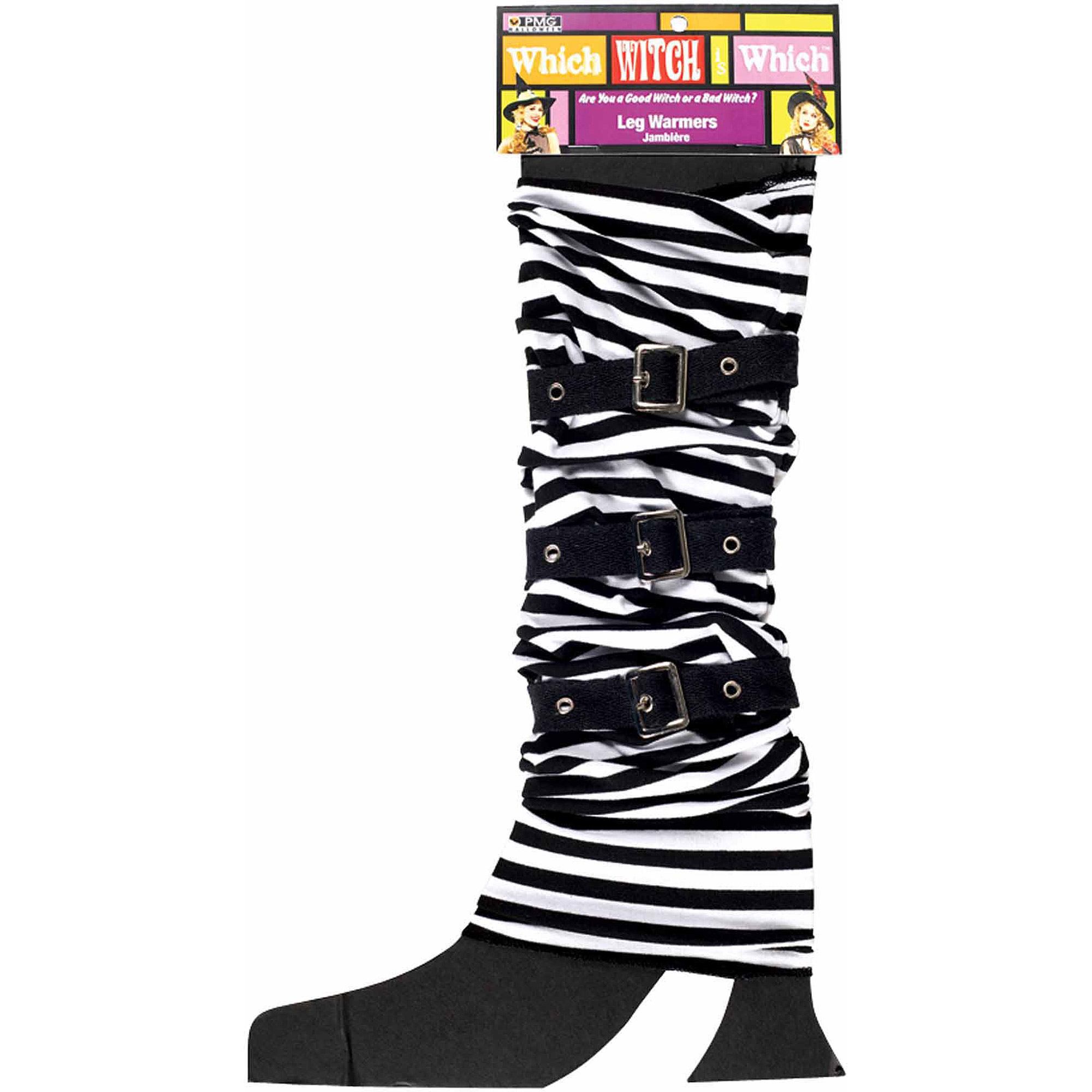 Legwarmers with Buckles Adult Halloween Accessory