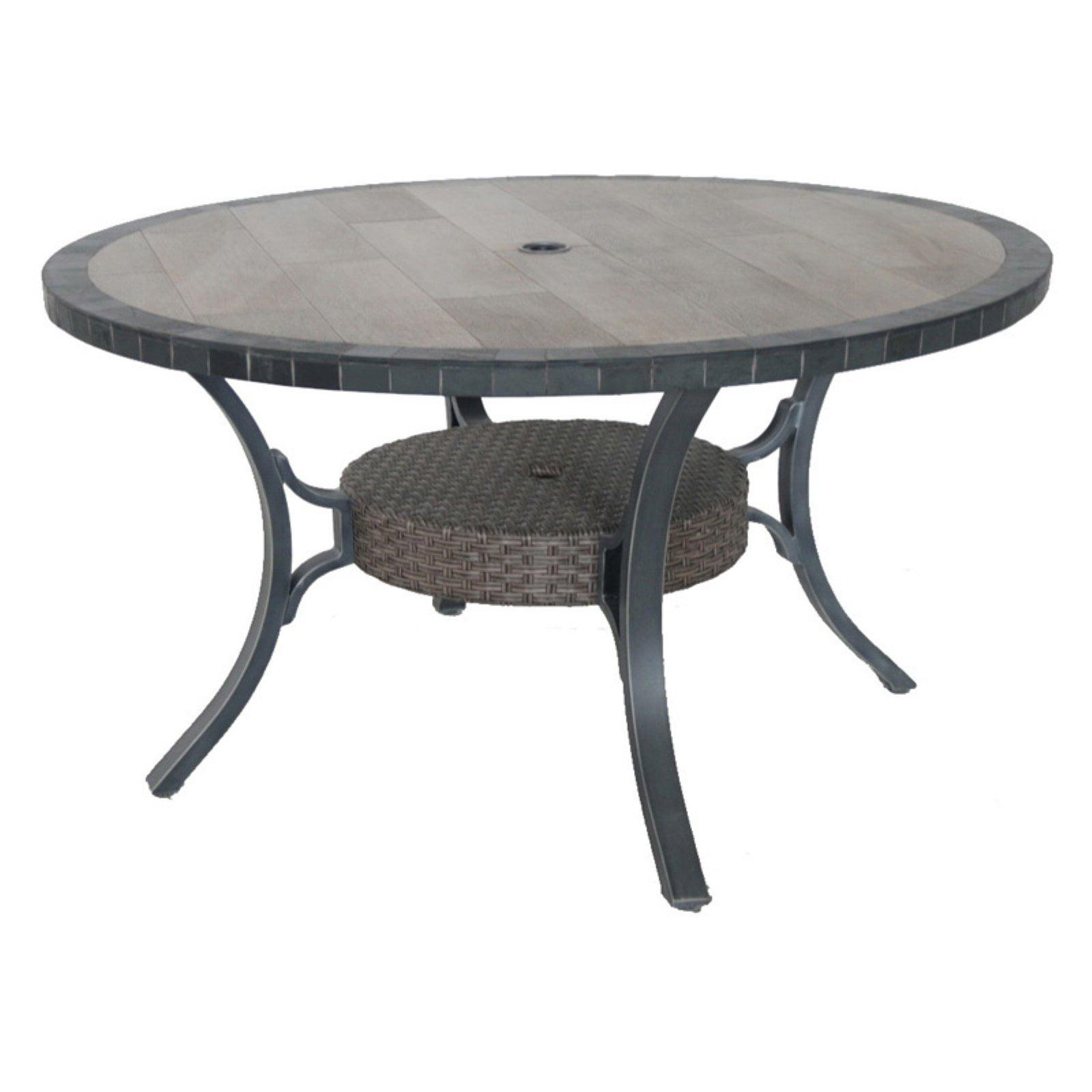 Royal Garden Bella Stone Outdoor Round Dining Table