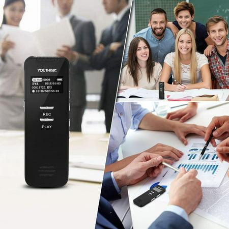 Ejoyous Portable Mini 8GB USB Pen Digital Audio Voice Recorder Mp3 Player Meeting (Sweetpea Mp3)