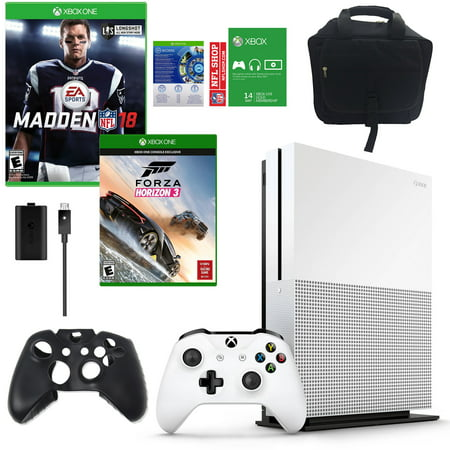 Xbox One Madden Nfl 18 500Gb Console With Free Forza 3 Game And Accessories Bundle
