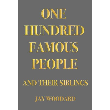 One Hundred Famous People - eBook