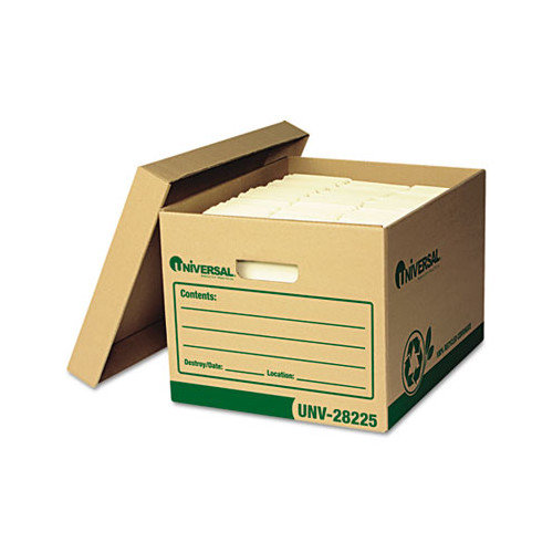 Universal Recycled Record Storage Box, 12/Carton