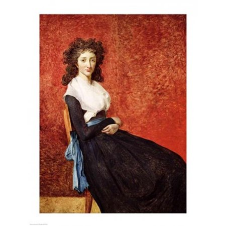 Posterazzi BALXIR24948 Portrait of Madame Charles-Louis Trudaine Poster Print by Jacques-Louis David - 18 x 24 in. - image 1 de 1
