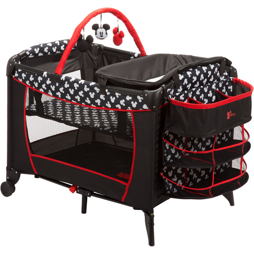 Disney Baby Mickey Mouse Sweet Wonder Play Yard, Mickey Silhouette
