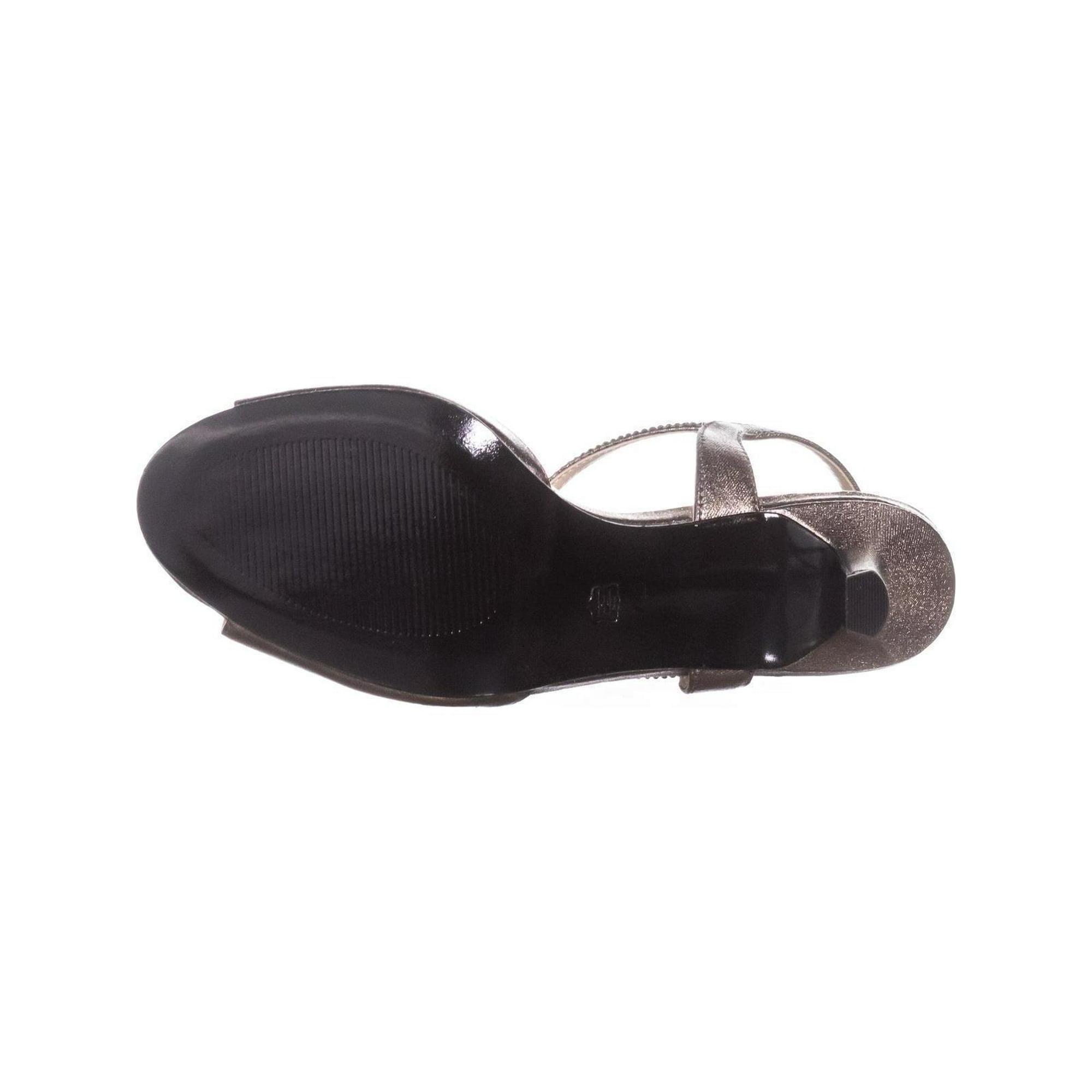 6ac38917816 Caparros Delicia Sparkle T-Strap Peep Toe Dress Sandals