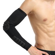 1pc Long Elbow Pads Sleeve Breathable Polyester Spandex Arms Cover Protector