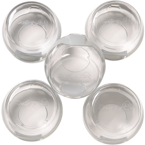 Safety 1st - Clear View Stove Knob Covers, 5pk