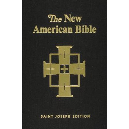 Saint Joseph Bible-NABRE-Large Print-Illustrated (Life History Of Joseph In The Bible)