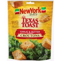 New York Brand The Original Texas Toast Garlic & Butter Flavored Croutons, 5 oz