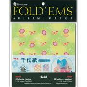 "Fold 'Ems Origami 2-Sided Paper 5.875"" 32/Pkg-Hana/Solid"