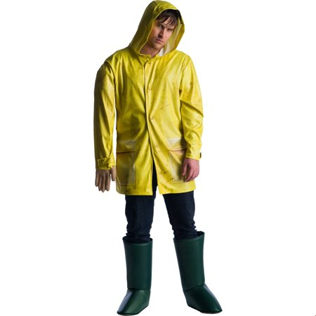 It Movie Mens Georgie Halloween Costume](Cheap Mens Scary Halloween Costumes)
