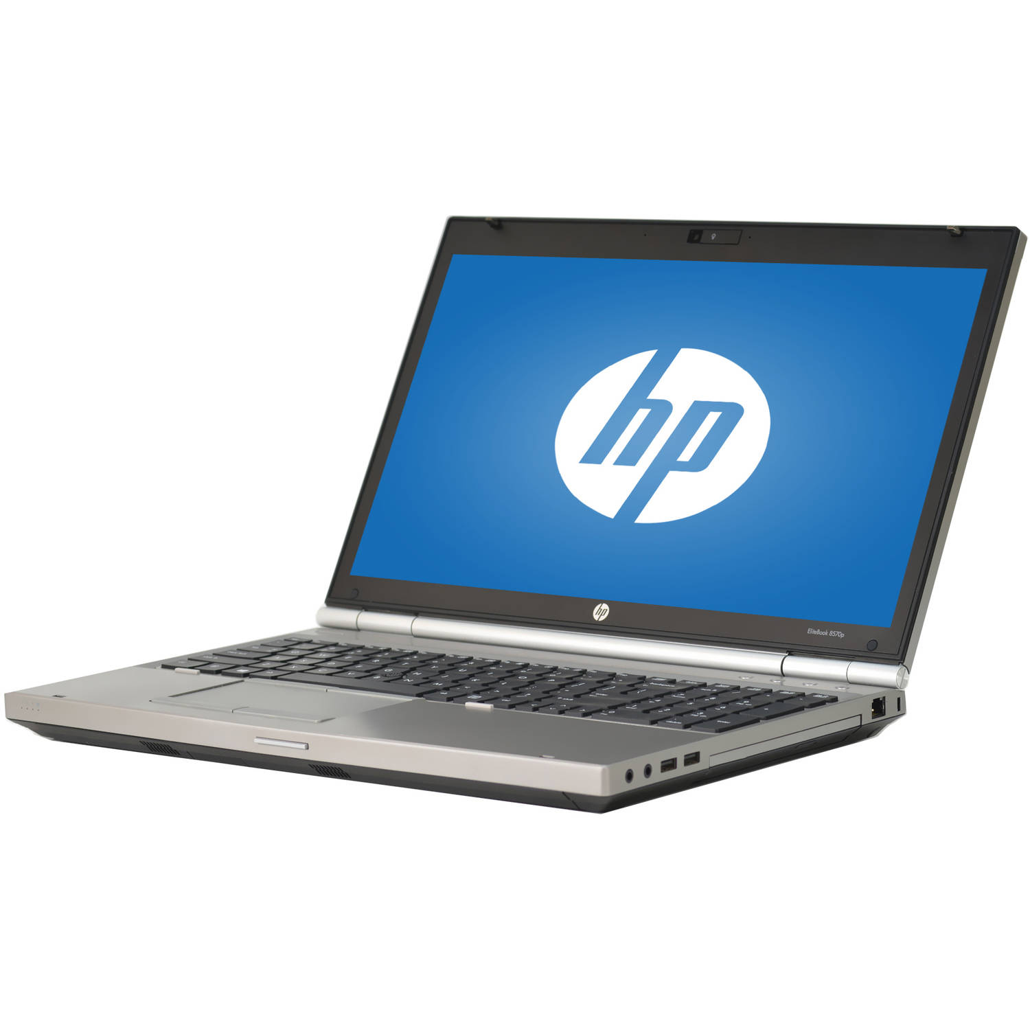 "Refurbished HP Silver 15.6"" Elitebook 8570P WA5-0775 Laptop PC with Intel Core i7-3740QM Processor, 8GB Memory, 128GB Solid State Drive and Windows 7 Professional"