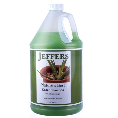 Jeffers Nature's Best Cedar Shampoo - Nature's Best Cedar Shampoo, gallon (Cedar Pet Shampoo)