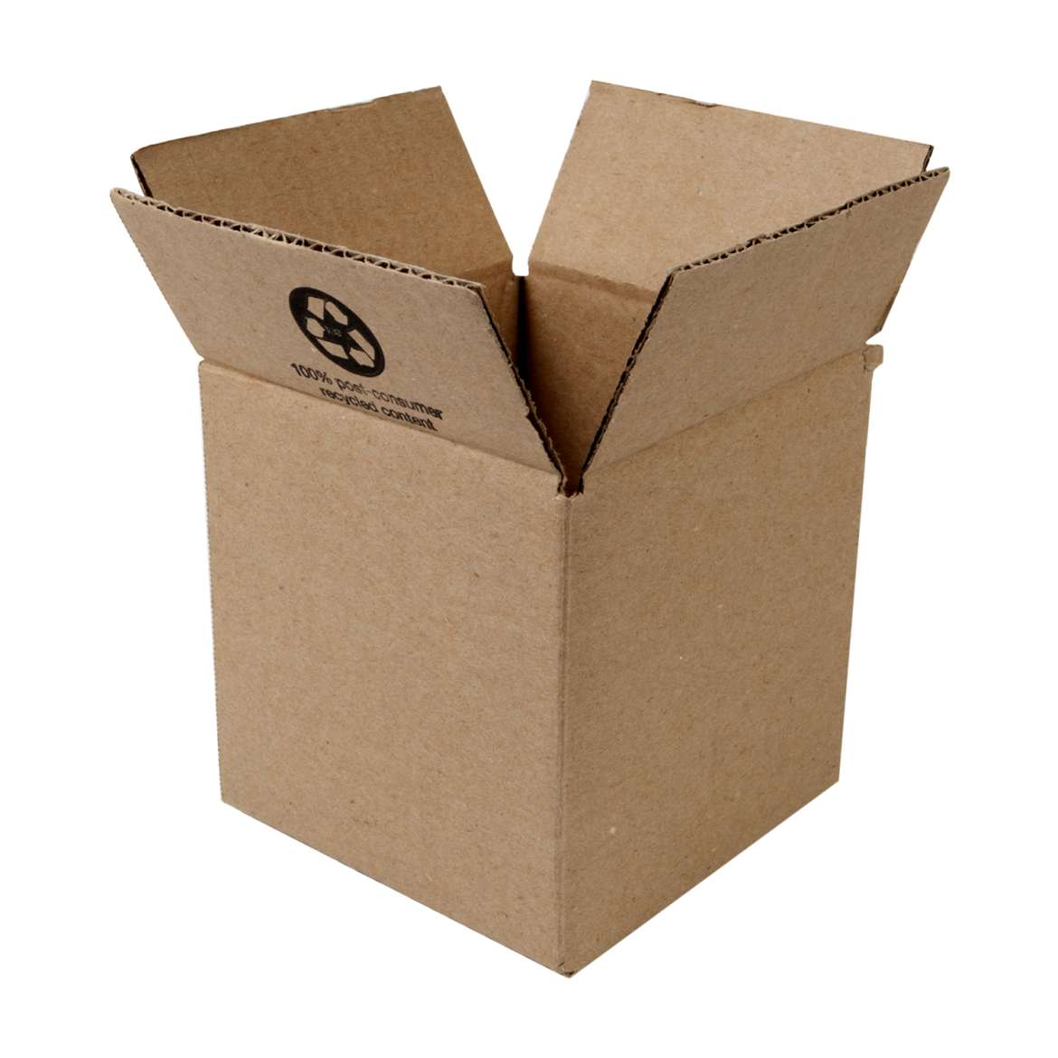 Duck Brand Kraft Box - Brown, 6 in. x 6 in. x 6 in.
