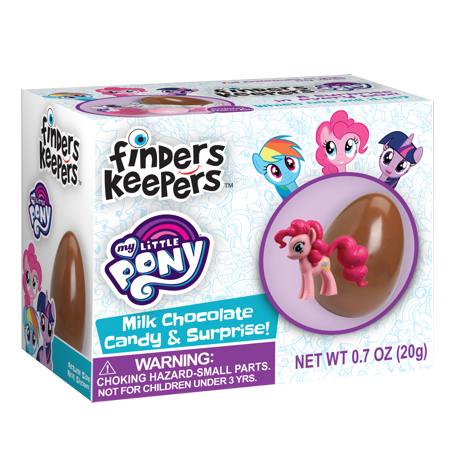 Finders Keepers My Little Pony Chocolate Candy & Toy Surprise 0.7 OZ