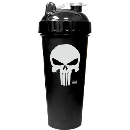 Performa Perfect Shaker - The Punisher Shaker Bottle, Best Leak Free Bottle with Actionrod Mixing Technology for Your Sports & Fitness Needs!.., By