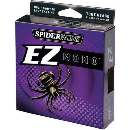 Spiderwire EZ Monofilament Fishing Line, Clear