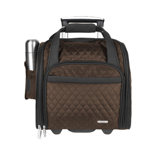 Wheeled Underseat Carry-On with Back-Up Bag 13.5 x 13.5 x 8