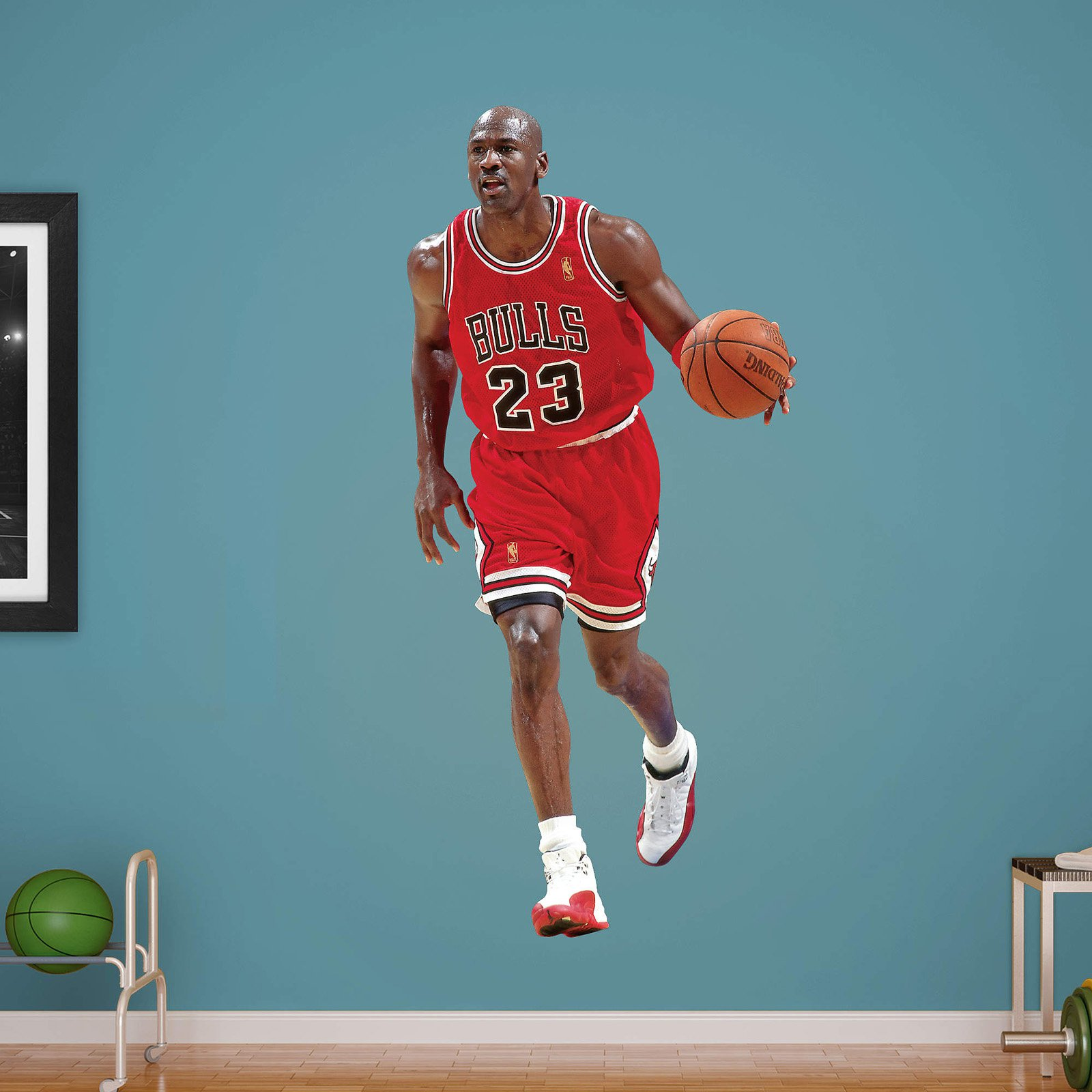 Fathead NBA Chicago Bulls Michael Jordan Wall Decal