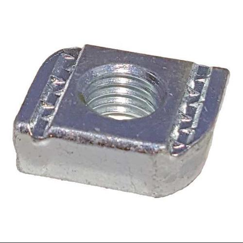 THOMAS & BETTS AB100-1/2 Channel Flat Nut, 1/2 In, Silver, PK25