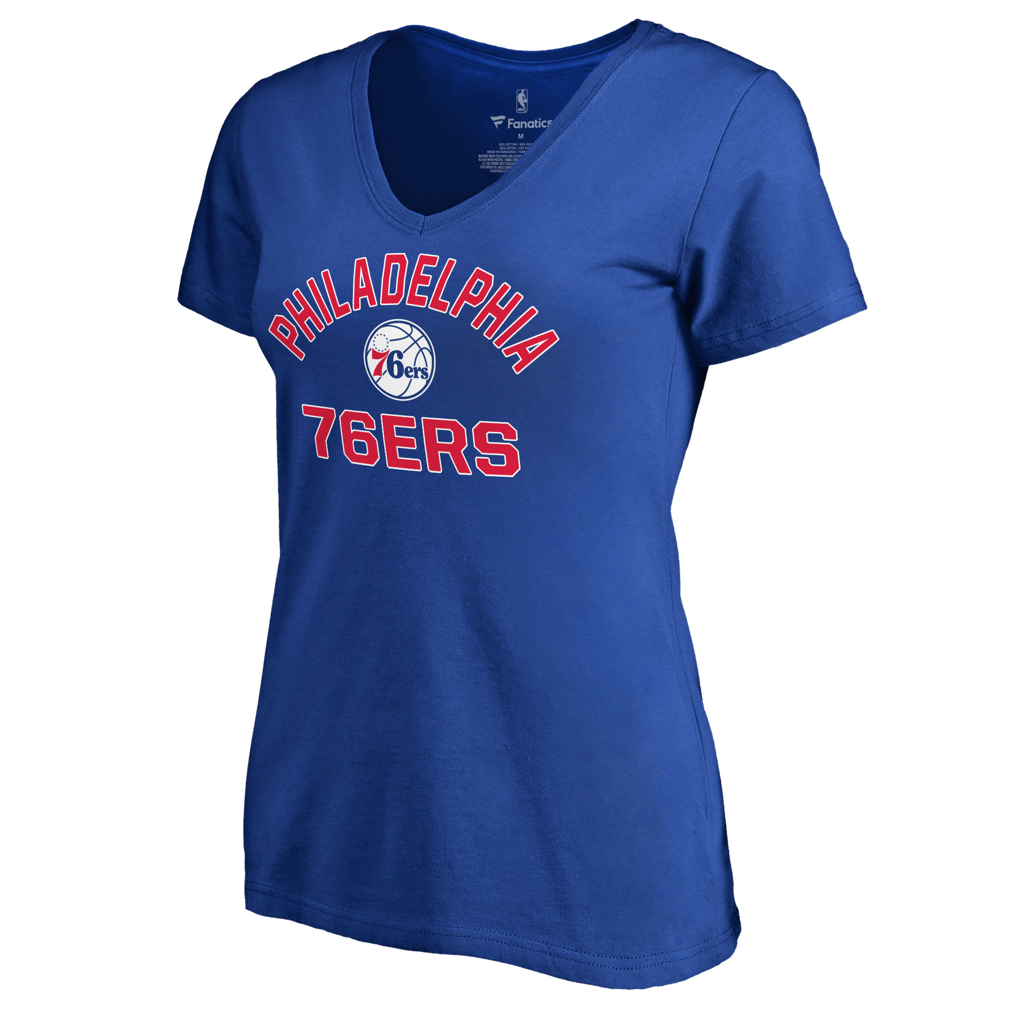 Philadelphia 76ers Women's Overtime T-Shirt - Royal