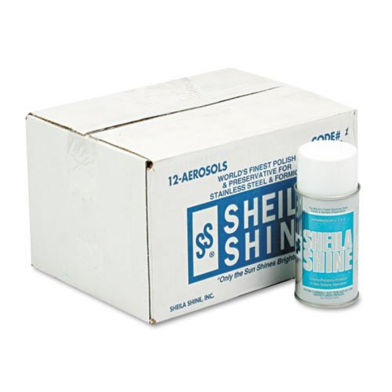 Sheila Shine Stainless Steel Cleaner & Polish, 10 oz. Aer...