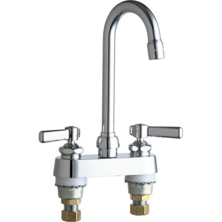 Chicago Faucets AB Commercial Grade Centerset Bathroom Faucet - Bathroom fixtures chicago