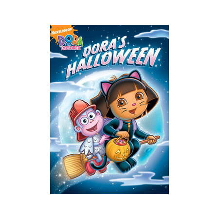 Dora The Explorer: Dora's Halloween (DVD) - Nickelodeon Halloween Specials