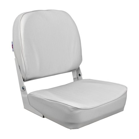 Sensational Kimpex Economy Low Back Fold Down Boat Seat Chair White Vinyl Waterproof White 777115 Machost Co Dining Chair Design Ideas Machostcouk