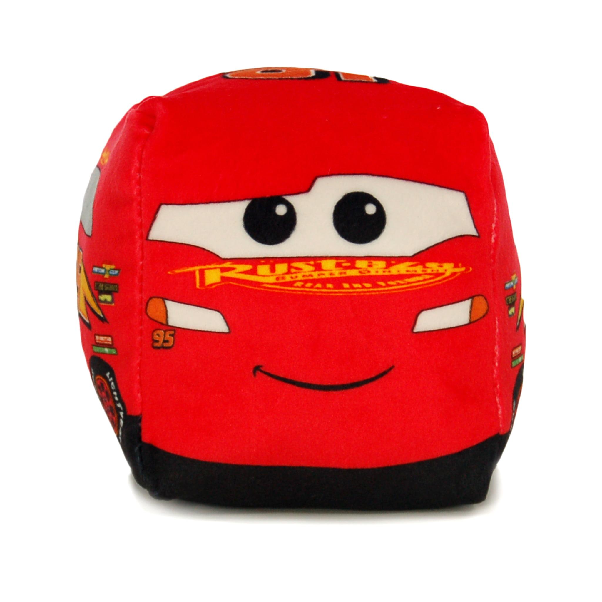 Disney Pixar's Cars McQueen 3D Ultra Stretch Mini Cloud Cube Travel Pillow, 1 Each